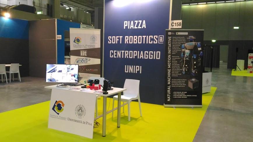 SoftHands @TechnologyHub, Milan, June 6-9 2016