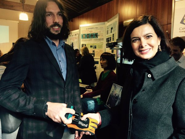 Visit of the president of the Italian Chamber of Deputies to the University of Pisa